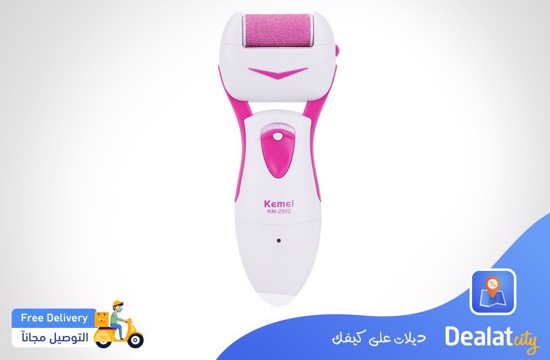 Kemei KM - 2502 New 3 in 1 Portable Electric Lady Foot Callus Remover - DealatCity Store