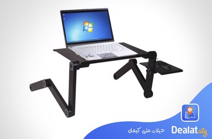 Laptop Table T8 360 degree adjustable & foldable - DealatCity Store