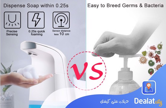 Auto Foaming Soap Dispenser - DealatCity Store