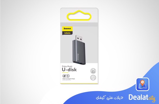 Baseus Enjoy Music USB Memory Flash U-Disk – 64GB - DealatCity Store