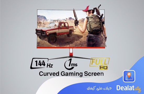 Forest Q 27 Inch Full HD Curved Gaming Screen - DealatCity Store