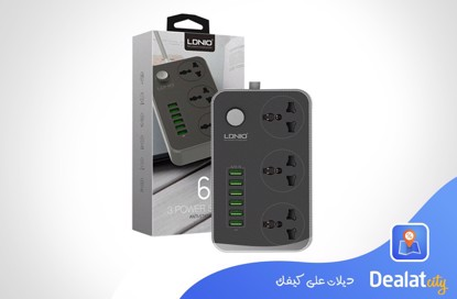 LDNIO SC3604 Power Strip - DealatCity Store