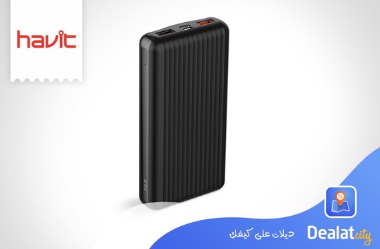 Havit H552 20000mAh Power Bank - DealatCity Store