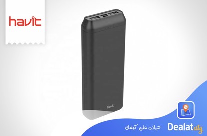 Havit H549 Portable Mobile Power Bank USB power bank 20000mah - DealatCity Store