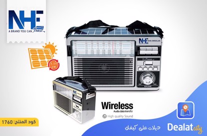 NHE Solar Speaker NHS-5W - DealatCity Store