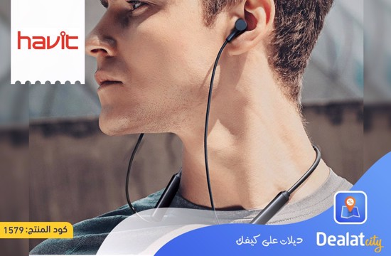 Havit H969BT In-Ear Sports Neckband Bluetooth Headset - DealatCity Store