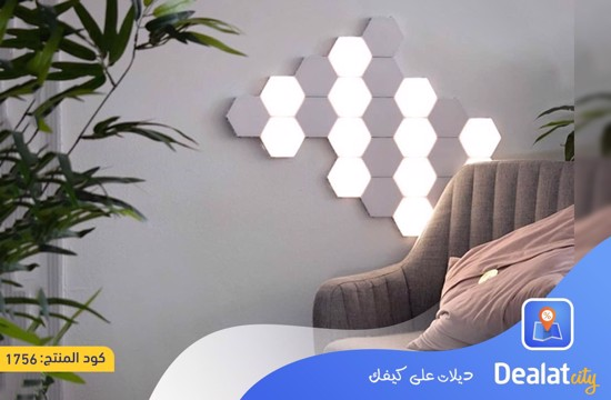 Hexagonal LED Color Changing Lamp - DealatCity Store