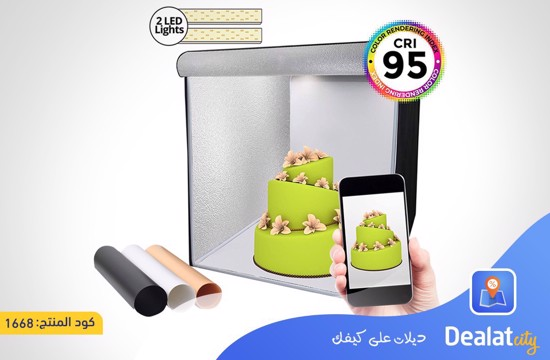 Phomito Light Box Tent Booth - DealatCity Store