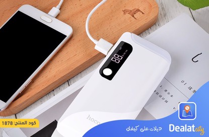 Hoco Power bank 15000 mAh with tabletop lamp - DealatCity Store