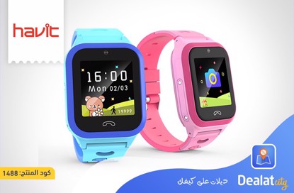 Havit KW02 Kids Watch (2G+GPS+WIFI) - DealatCity Store