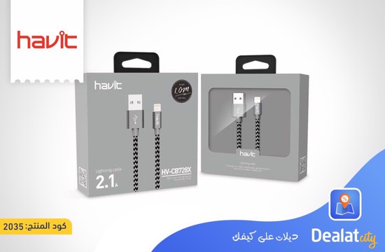 HAVIT HV-CB728X USB lightning cable - DealatCity Store