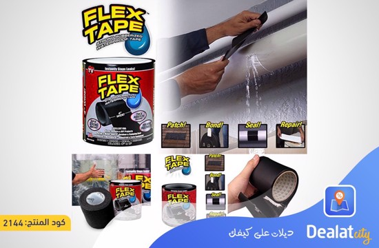 Flex Tape Rubberized Waterproof Tape - DealatCity Store