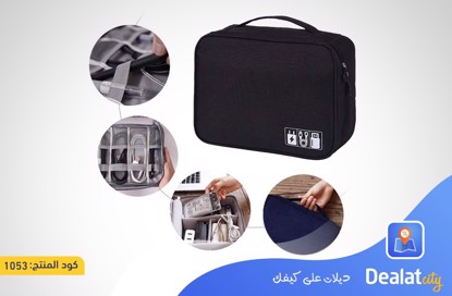 Travel Digital Bag Black color - DealatCity Store