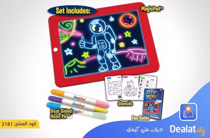 Light Up Magic Tablet Pad - DealatCity Store